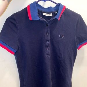 Women's Authentic Lacoste Slim Fit Polo (2 Polos)
